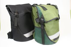 Coming soon from Seagull bags.  Looks like one of them will have a flap that lets you extend the height of the bag.