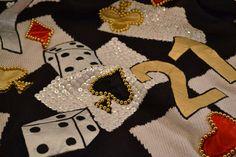 1990s Gambling Sweater Spree International Sweater by CloesCloset