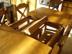 ideal mesa por si te llegan mas invitados de los esperados