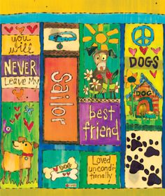 """Dog Love - Custom Art Pole 20"""" <span style=""""color:red""""><br>($85 without shipping)</span>"""