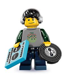 Buy and collect the series 8 LEGO Techno DJ collectible minifigure. Lego Boards, Lego People, Lego Minifigs, Lego Toys, Lego Lego, Lego Figures, Buy Lego, Lego Group, Custom Lego