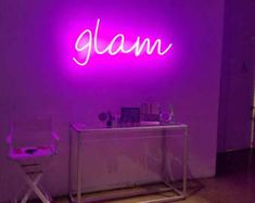 Personalized custom your neon led sign logo design