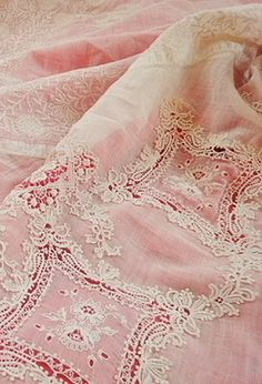 Vintage Pink and Cream