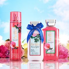 The perfect springtime trio of fragrance! | #HelloBeautiful