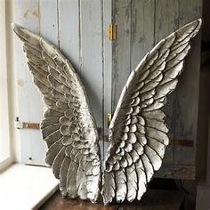 A pair of angel wings