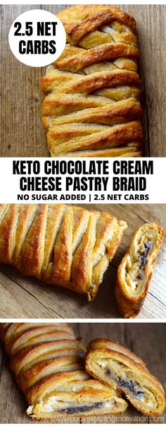 Cream Cheese Pastry, Cream Cheese Filling, Chocolate Cream Cheese, Chocolate Filling, Planning Budget, Menu Planning, Wheat Gluten, Low Carb Recipes, Budget Recipes