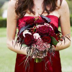 Ruby Red Bouquet. Photo by Josh Elliott