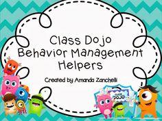 Learning to the Core: Class Dojo (an online behavior management tool! Class Dojo Rewards, Classroom Rewards, Classroom Rules, Classroom Ideas, Classroom Resources, Teacher Resources, Behavior Management, Classroom Management, Class Management