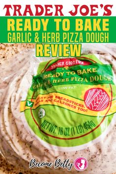 Trader Joe's Garlic and Herb Pizza Dough is inexpensive, quick, easy, little wait time,  you are only limited by your own creativity.  The dough was nice and light out of the oven and was easy enough to work with. The flavor is going to be a hit or miss depending upon what you like. | Become Betty @becomebetty #traderjoes #traderjoesrefrigerated #traderjoesitalian #traderjoespizza #traderjoesdinnerideas #traderjoesdiditagain #traderjoesfan #traderjoesfinds #traderjoesreview #becomebetty Summer Snack Recipes, Easy Appetizer Recipes, Easy Snacks, Dinner Recipes, Trader Joes Vegetarian, Vegetarian Recipes Easy, Chinese Tea Eggs Recipe, Pizza Dough