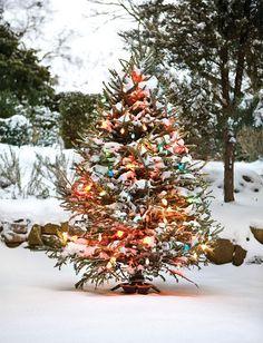 christmas outdoor tree