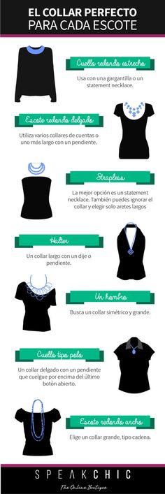 El collar perfecto para cada escote | SPEAK CHIC | Accesorios de Marca…
