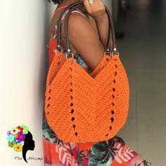 How to Make Knitted Yarn Bag: Step by Step Photos Free Crochet Bag, Crochet Art, Crochet Handbags, Crochet Purses, Knitting Patterns, Crochet Patterns, Granny Square Bag, Crochet Shoulder Bags, Knitted Bags