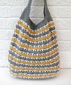 market bag crochetpattern - gehaakte tas haakpatroon