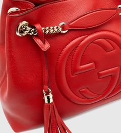 Buy Gucci Women's Red Soho Leather Shoulder Bag, starting at $1555. Similar products also available. SALE now on!