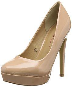 Dolcis  Dolcis Barcelona,  Damen Stöckelschuhe , Beige - Beige (Nude Patent) - Größe: 39.5 - http://on-line-kaufen.de/dolcis-3/39-5-eu-dolcis-dolcis-barcelona-damen