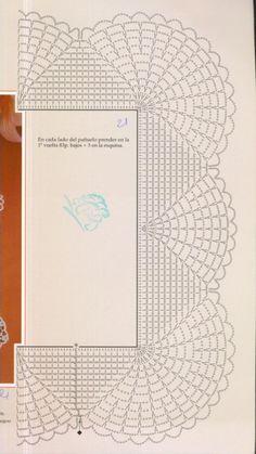 ru / Фото # 33 - Selección de muestras y razones 29 - tymannost - Poncho de punto - Crochet Boarders, Crochet Edging Patterns, Crochet Lace Edging, Crochet Motifs, Crochet Diagram, Crochet Chart, Thread Crochet, Crochet Trim, Crochet Doilies