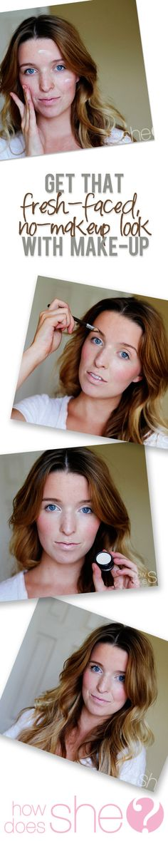 Fresh Faced No Make Up Look With Make Up- TheDaybook