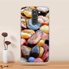 """Phone Cases For LG K10 Case Cover Silicone Phone Cover for LG K10 K420N K430DS Cover Case for LG K10 5.3"""" Cover bag Coque Fundas"""