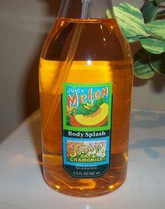 Bath & Body Works Juicy Melon Body Splash Spray