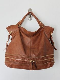 Braiding Around Hobo-trendy fashion handbags hobo, unique fashion handbags hobo, brown hobo bag, vegan handbags and purses, urban expressions handbags and purses