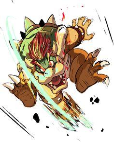 Smash Bros Sketches: Bowser