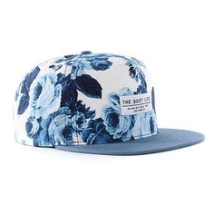 "THE QUIET LIFE ""Floral"" Snapback Cap ❤ liked on Polyvore featuring accessories, hats, cap snapback, snapback hats, snap back hats, flower snapback hats and floral snapback cap"