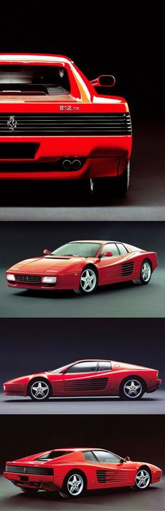1991 Ferrari 512 TR / Testarossa / 428hp F12 / Italy / red