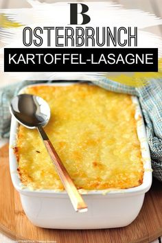 Minced sauce, bechamel, cheese crust - at first glance, this lasagna does not differ from the classic recipe. However, one thing is mi Lasagna Recipe With Ricotta, Easy Lasagna Recipe, Easy Cookie Recipes, Cupcake Recipes, Potato Lasagna, Lasagna Soup, Lasagna Rolls, Potato Chip Cookies, Sliced Potatoes