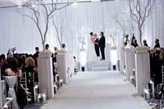 winter wonderland theme wedding