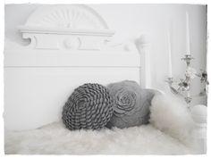 Rosenkissen - rose pillow