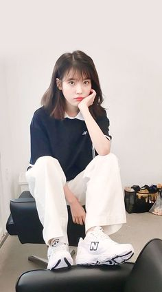 Gli Arcani Supremi (Vox clamantis in deserto - Gothian): The New Style: fashion, outfits and trends for 2019 Kpop Short Hair, Short Hair Outfits, Kpop Fashion, Korean Fashion, Fashion Outfits, Style Fashion, Fashion Hair, Korean Girl, Asian Girl