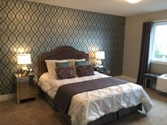 Will-O Homes model townhome staged by Rooms in Bloom.
