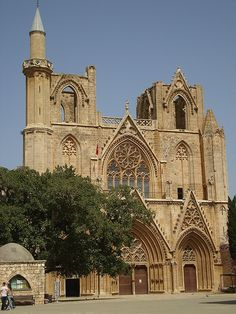 St. Nikolaos Cathedral, Turkish occupied Famagusta. Cyprus