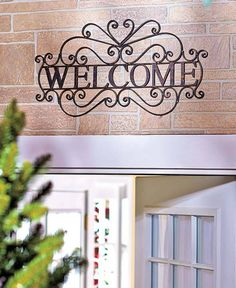 Metal Decorative Signs Simple Custom Outdoor House Number Metal Sign  3 Digit 1625X725 Decorating Design