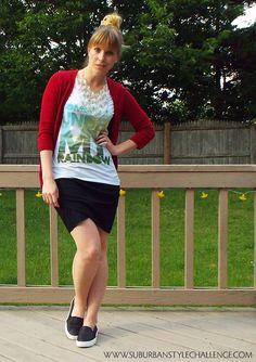 Suburban Style Challenge | Random Outfits: June 27: Somewhere Under My Rainbow | http://blog.suburbanstylechallenge.com