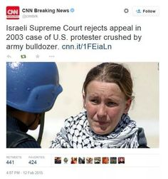We will never forget you Rachel Corrie!!