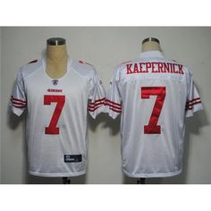 Shop Nike NFL football jerseys: 49ers #7 Colin Kaepernick White Stitched NFL Jersey stitched sports jerseys online shop ! Authentic-custom quality Jerseys at factory wholesale prices.
