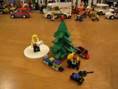 Lego Set 10069 tree decorated with toys! Lego Ornaments, Lego Sets, Tree Decorations, Toys, Youtube, Activity Toys, Lego Games, Nursery Tree Mural, Clearance Toys