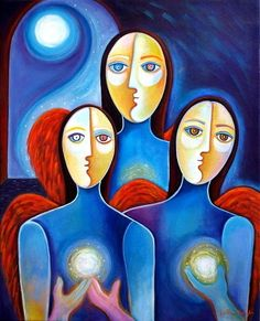 Three Angels of Peace - Marlina Vera
