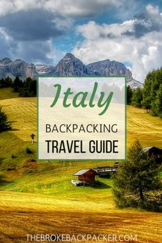 The ultimate budget guide to backpacking Italy! Get tips and tricks for traveling around this amazing country, without spending too much money. Experience the glory of Rome, drink wine in charming villages, and go hiking in the Dolomites. Included are itineraries, suggested hostels, and more...