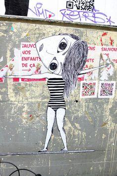 Paris 4 - rue saint-merri - street art - vutaren