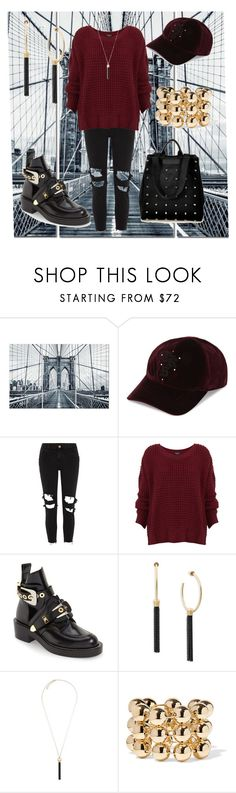 """street look"" by cecilvenekamp ❤ liked on Polyvore featuring The Kooples, River Island, Balenciaga and Michael Kors"