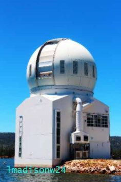solar observatory. Big Bear Lake