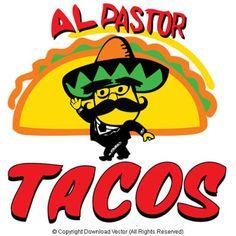 Mexican Restaurant Taco vector clip art by Download Vector