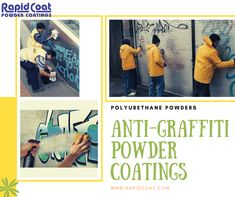 Rapid coat produce, manufactures and exports Anti-graffiti powder coatings designed to meet the requirements of application by electrostatic spraying or dip coating. Graffiti, Powder Coating, Indoor Outdoor, Products, Graffiti Artwork, Gadget, Inside Outside, Street Art Graffiti