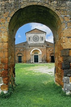 Church of San Pietro, Viterbo, Lazio, Italy Romanesque Architecture, Sacred Architecture, Regions Of Italy, Destination Voyage, Visit Italy, Place Of Worship, Toscana, Kirchen, Best Vacations