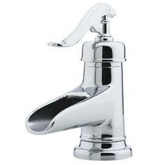 Pfister Ashfield 4 in. Centerset Single-Handle Bathroom Faucet in Polished Chrome-GT42YP0C - The Home Depot