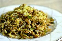 Hashed Brussels Sprouts with Lemon on Simply Recipes