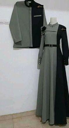 Fashion Now, Fashion Couple, Japan Fashion, Modest Fashion, Fashion Dresses, Batik Fashion, Abaya Fashion, Couple Outfits, Casual Outfits