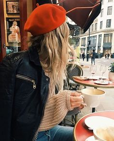 good morning from #london  @the_salty_blonde in our braxton sweater in grey mist #amusesociety